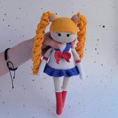 Мастер класс по вязанию крючком куклы Сейлор Мун