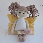 Мастер класс по вязанию крючком куклы Феечки