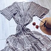Халат платье