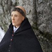 Интерьерная кукла Монах