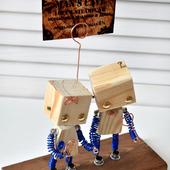 """Подарочные стутэтки """"Роботы"""" с держателем для фото"""