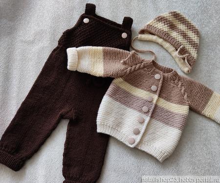 """Комплект одежды """"Шоколадный"""" ручной работы на заказ"""