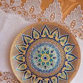 фото: тарелка декоративная