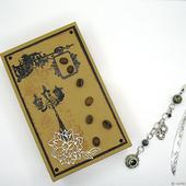 Закладка Кондитерская коллекция Тенша в подарочной коробочке