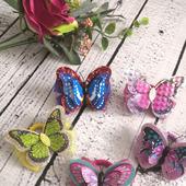 Бабочки резиночки для волос