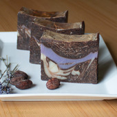 "Натуральное мыло ""Лавандовый шоколад"""