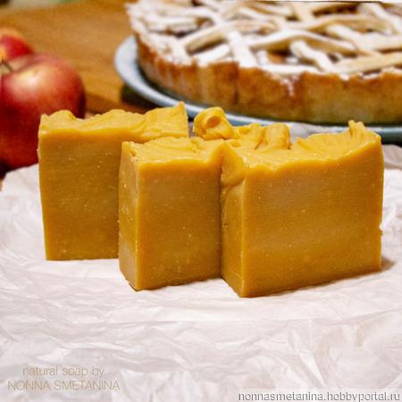 """Мыло натуральное """"Яблочный пирог"""" ручной работы на заказ"""