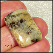 Солнечник - натуральный камень - 24 х 15 х 5 мм
