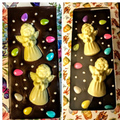 Шоколадная плитка к Пасхе