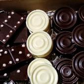Шоколадные шашки, домино