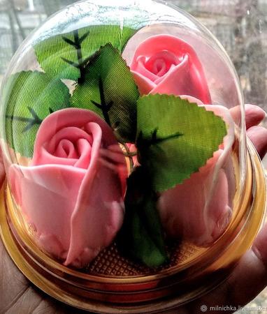 Мыло Розы 3D (3 шт. набор) ручной работы на заказ