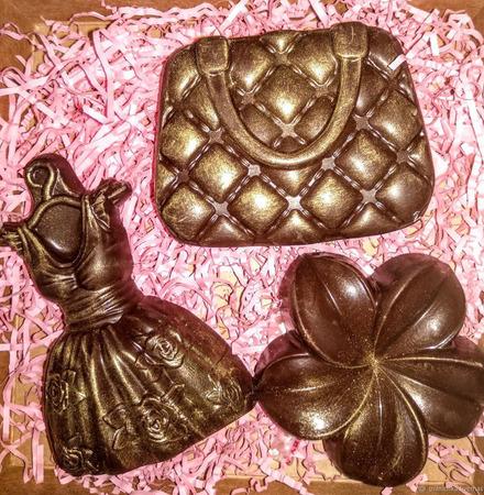 Шоколадные наборы женщинам ручной работы на заказ