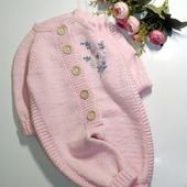 Комбинезон детский с вышивкой