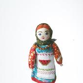 Кукла столбушка сувенирная (арбузный фестиваль)
