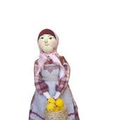 """Кукла """"Бабушка с цыплятами"""""""