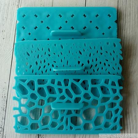 Печать для теста, марципана, полимерной глины, набор 3 шт. ручной работы на заказ