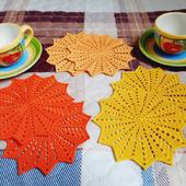 Набор салфеток для чаепития «Солнечное настроение»
