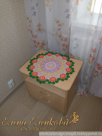 Салфетка Коняковская ручной работы на заказ