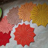 Набор салфеток для чаепития «Краски осени»