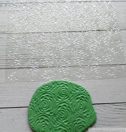 Текстурный лист 1 для теста, марципана, полимерной глины, набор 10 шт. ручной работы на заказ