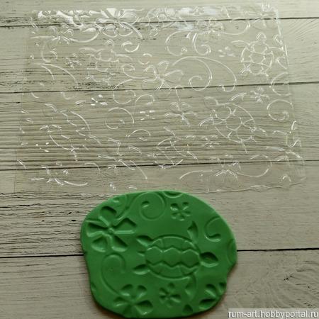 Текстурный лист 2 для теста, марципана, полимерной глины, набор 10 шт. ручной работы на заказ