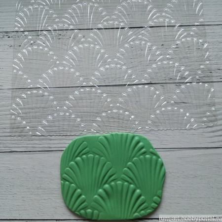 Текстурный лист 6 для теста, марципана, полимерной глины, набор 10 шт. ручной работы на заказ