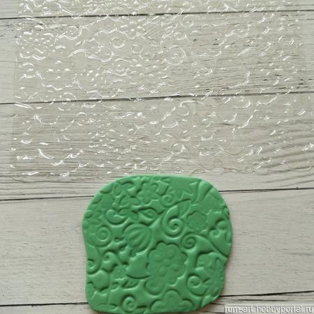 Текстурный лист 4 для теста, марципана, полимерной глины, набор 10 шт. ручной работы на заказ