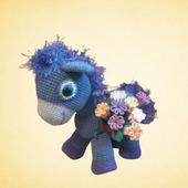 Пони с цветами