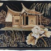 """Вышивка крестом """"Японский сад"""""""