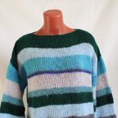 Вязаный свитер в стиле ColorBlock