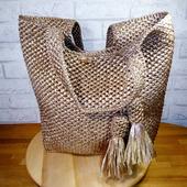 "Вязаная сумка ""Нефертити"""