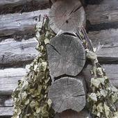 Веники березовый и липовый