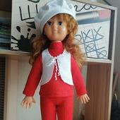 Комплект одежды для куклы СССР Нина