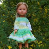 Платье с пышной юбкой  для Паола Рейна
