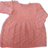 Платье для новорожденной девочки