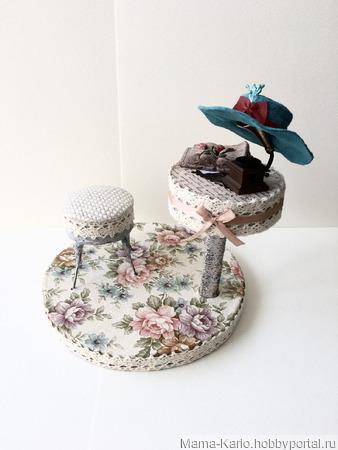 Мадмуазель Виолетта Бурже ручной работы на заказ
