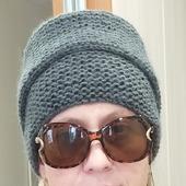 Об'емная шапочка-снопик