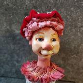 Кукла-статуетка для украшения вашего интерьера, дома, дачи