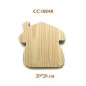048 Домик - основа для ключницы, панно и т.д. Заготовки из сосны