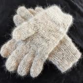 Перчатки из собачьего пуха