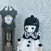 Интерьерная кукла Пьеро: рукодельные товары