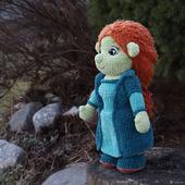 Амигуруми куклы и игрушки: Фиона