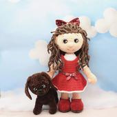 Амигуруми куклы и игрушки: Элли и Тотошка