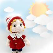 Амигуруми куклы и игрушки: Буратино