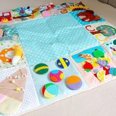 Разнофактурный коврик для малышей