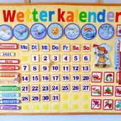Календарь погоды, на разных языках