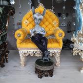 """Кукольный мини-диван """"Принц Персии"""""""