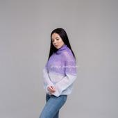Нежный мохеровый свитерок